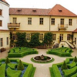 Празькі палацові сади, Весілля в Чехії, Весільна церемонія в Чехії, весілля за кордоном, весільна церемонія за кордоном