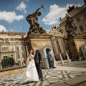 Празький Град, Чехія, Весілля в Чехії, Весільна церемонія в Чехії, весілля за кордоном, весільна церемонія за кордоном
