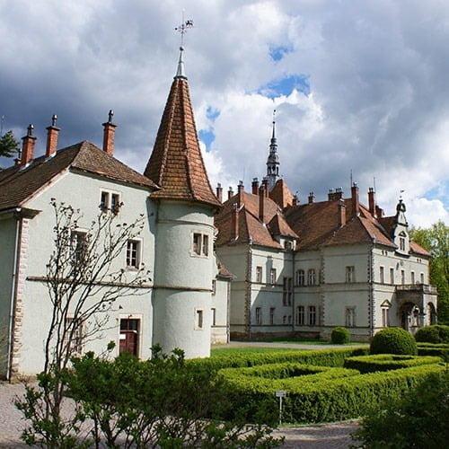 Екскурсії Україною Сиро-Винний тур Закарпаттям, палац шенборнів