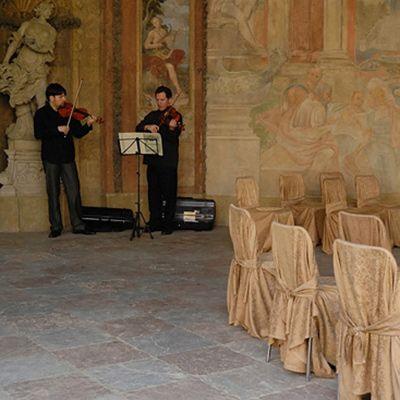 Весілля в Празьких палацових садах, Весілля в Чехії, Весільна церемонія в Чехії, весілля за кордоном, весільна церемонія за кордоном