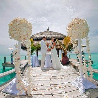 Весілля на Мальдівах, Весільна церемонія на Мальдівах, весілля за кордоном, весільна церемонія за кордоном