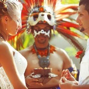 Весільна церемонія Майя, Весілля в Мексиці, Весільна церемонія в Мексиці, весілля за кордоном, весільна церемонія за кордоном
