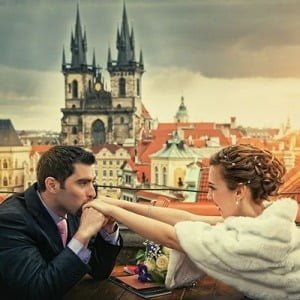 Весільна церемонія в празькому Граді, Чехія, Весілля в Чехії, Весільна церемонія в Чехії, весілля за кордоном, весільна церемонія за кордоном