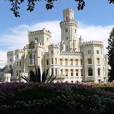Замок Глубока над Влтавою, Весілля в Чехії, Весільна церемонія в Чехії, весілля за кордоном, весільна церемонія за кордоном