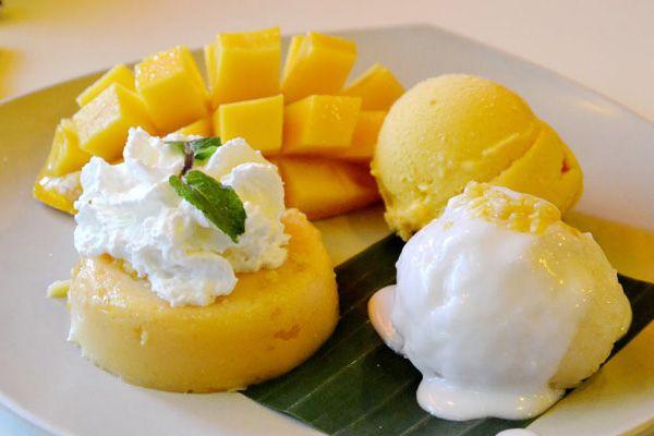 Клейкий рис з манго