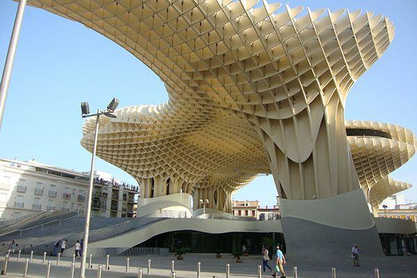 Metropol Parasol, Севілья, Іспанія