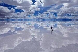 Озеро Салар-де-Уюні, Болівія