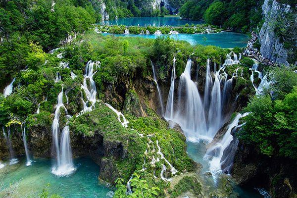 Плітвіцькі озера, Хорватія