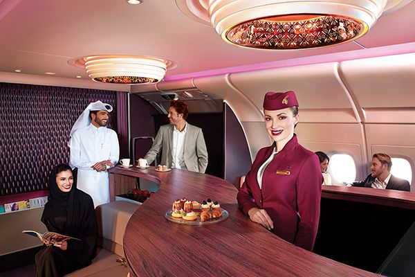 Фьюжн меню qatar airways