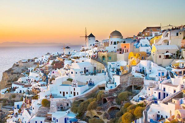 Санторіні, Греція