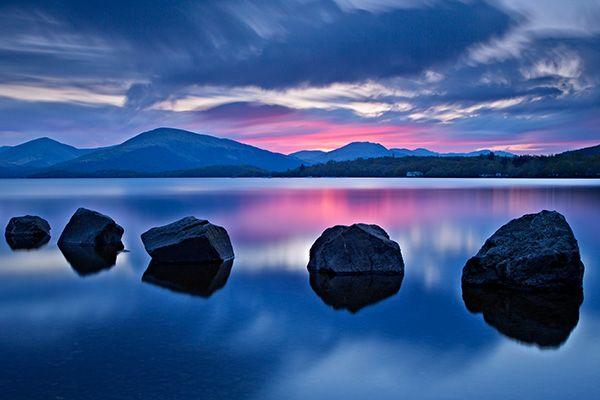 Шотландія. Лох-Ломонд