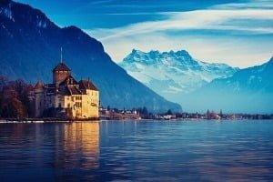 Швейцарія. Женевське озеро