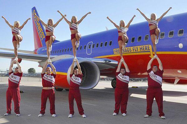 Виступи відомих артистів Авіакомпанія Southwest