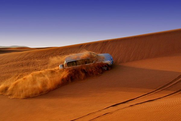 сафарі в пустелі оае