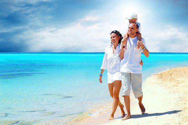 Сімейний відпочинок на Мальдівах