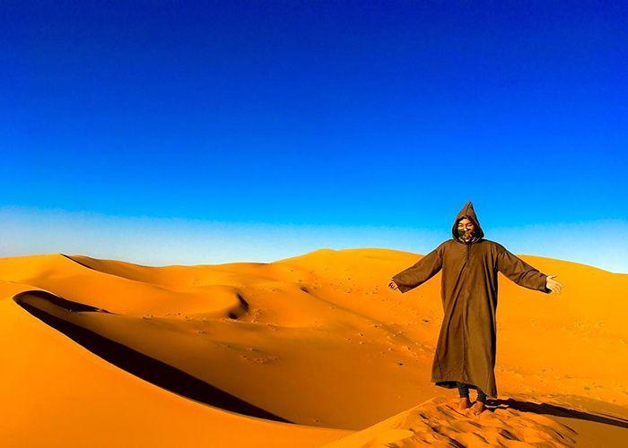 Берберський халат джеллаба, Марокко