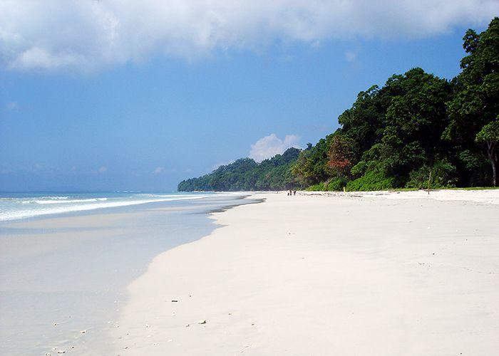 Radhanagar Beach, Індія