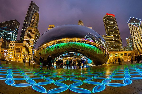 Топ 10 місць США Чикаго