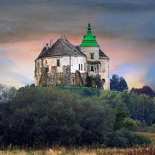 золота підкова львівщини, олеський замок