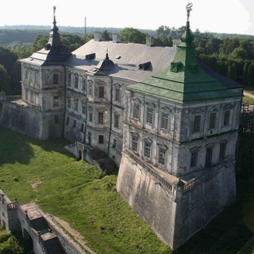 золота підкова львівщини, підгорецький замок