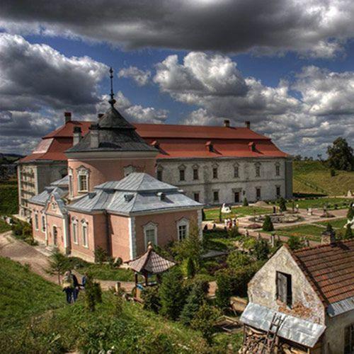 золота підкова львівщини, золочівський замок