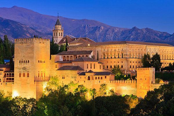 Альгамбра, Іспанія