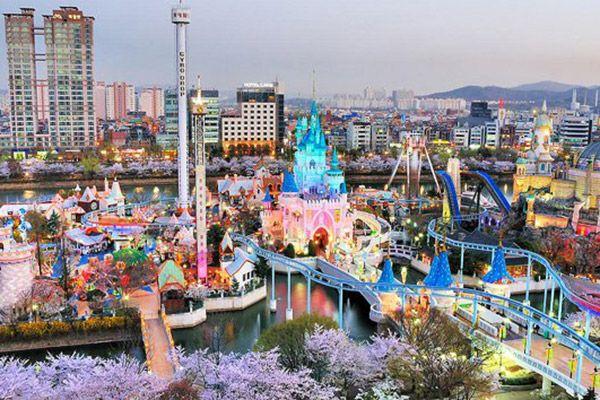 lotte world, південна корея, сеул