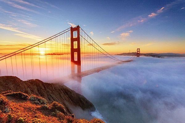 Міст Золоті Ворота, Сан-Франциско, Каліфорнія