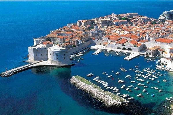Стіни старого міста, Дубровник, Хорватія