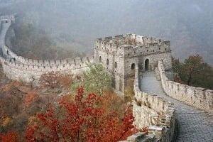 Велика Китайська Стіна Мутяньюй, Пекін, Китай