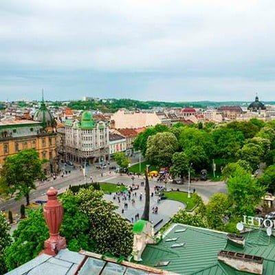 екскурсія львівськими дахами