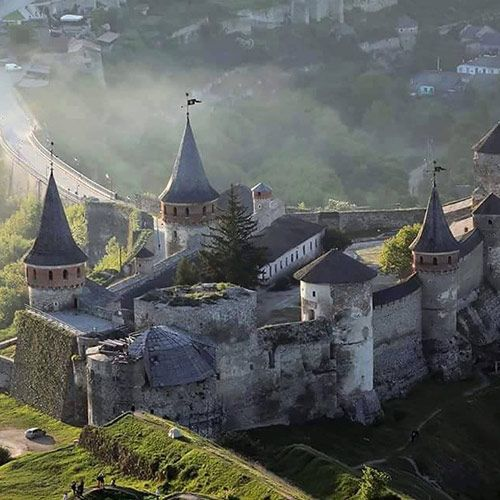 Кам'янець-Подільський круїз, Кам'янець-Подільський замок