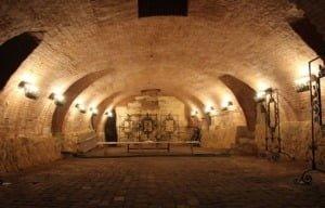 Підземелля преображенської церкви