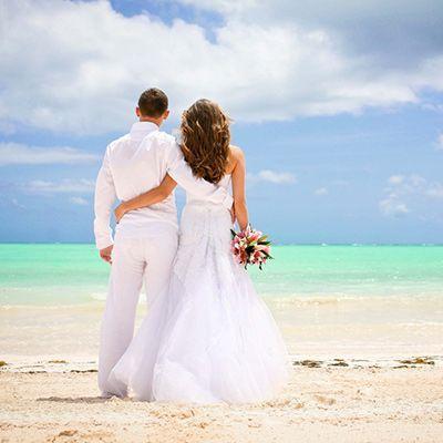 організація весілля в домінікані на пляжі макао