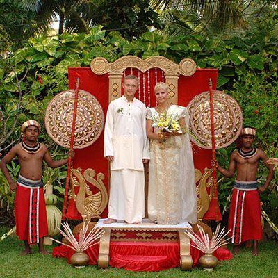 Організація весілля на Шрі-Ланці