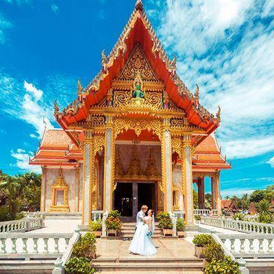 організація весілля за кордоном, весільна церемонія в таїланді