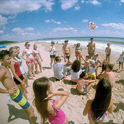 дитячий табір морські дюни в болгарії