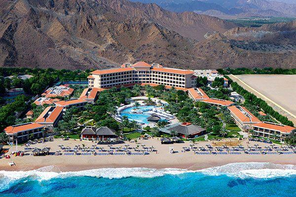 fujairah rotana resort, рейтинг готелів оае, кращі готелі оае