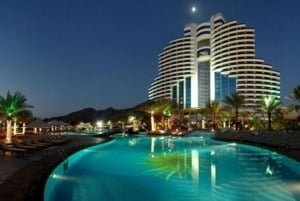 Le Meridien Al Aqah Beach Resort, рейтинг готелів оае, кращі готеля оае