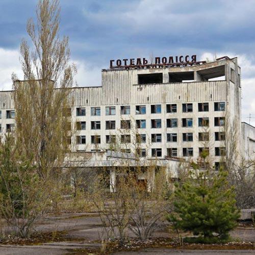 екскурсія в Чорнобильську зону готель полісся